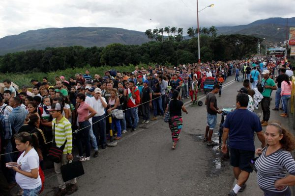 Un millón de venezolanos migró a Colombia en los últimos 15 meses