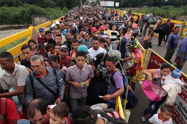 EEUU otorgó casi $19 millones más a Colombia para refugiados venezolanos