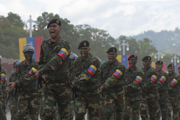 La columna militar que sostiene a Maduro