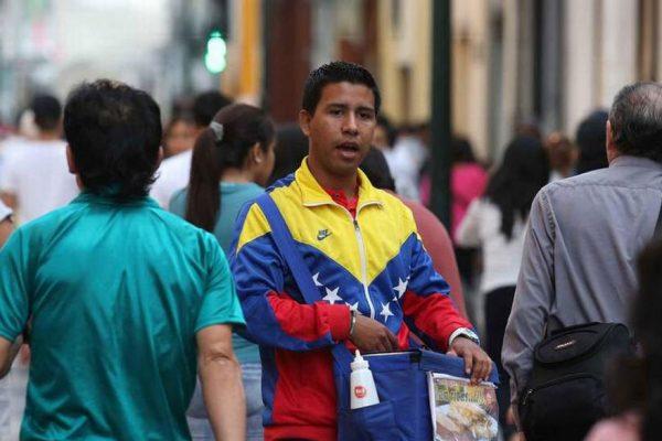 Informalidad venezolana en Lima