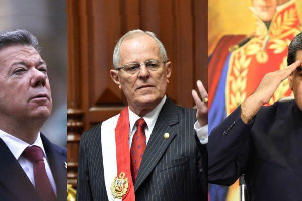 ¿Qué tienen en común Santos, Maduro y Kuczynski?