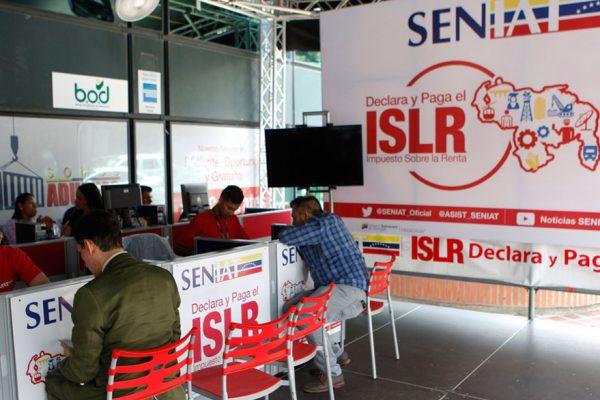Exoneran el ISLR a personas naturales con ingresos inferiores a tres salarios mínimos