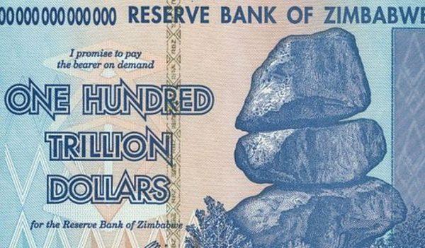 Nuevo billete de 50 dólares en Zimbabue no alcanza ni para el pan
