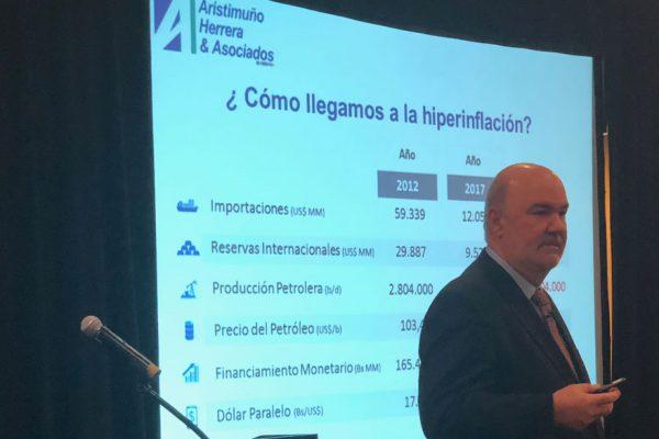 Aristimuño: Es necesario un cambio en el núcleo de la economía venezolana