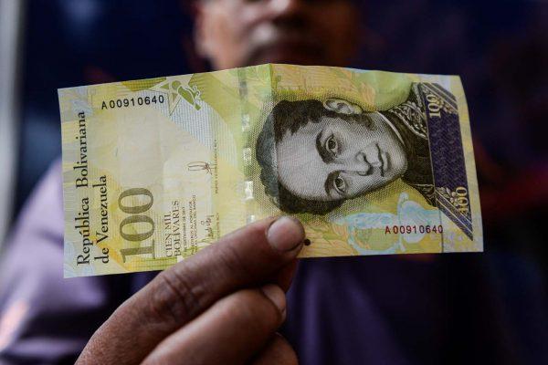 Billete de Bs 100 mil circulará con nuevo elemento de seguridad