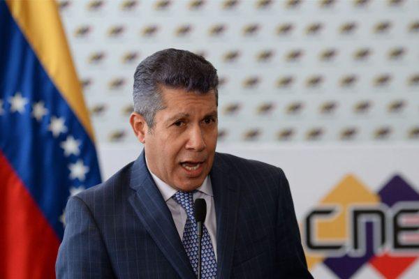 Falcón promete liberar a López y opositores presos