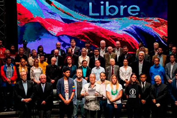 Frente Amplio se congregará en las iglesias venezolanas