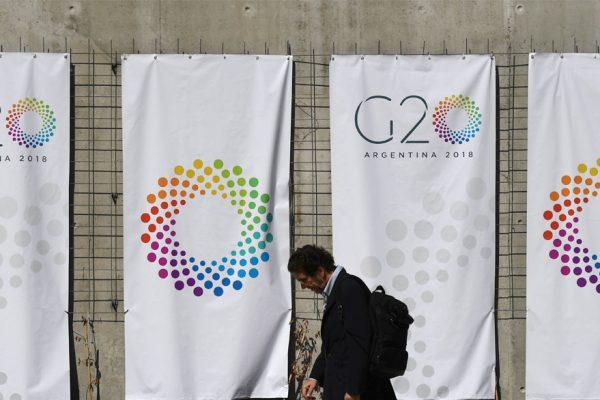 G20 concluye con llamado al diálogo por tensiones comerciales