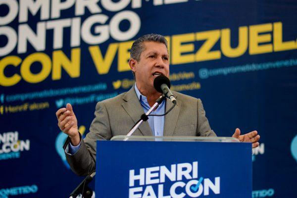 Falcón impugnó las elecciones presidenciales