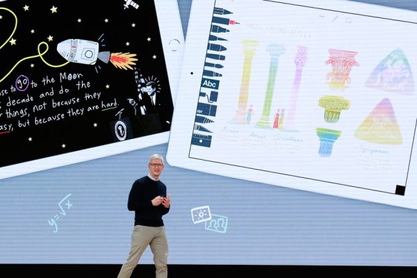 Apple lanza un nuevo iPad más barato y enfocado en la educación