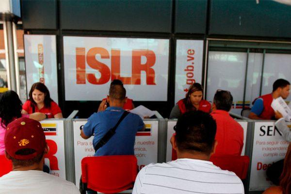 Prórroga para declarar el ISLR vence mañana