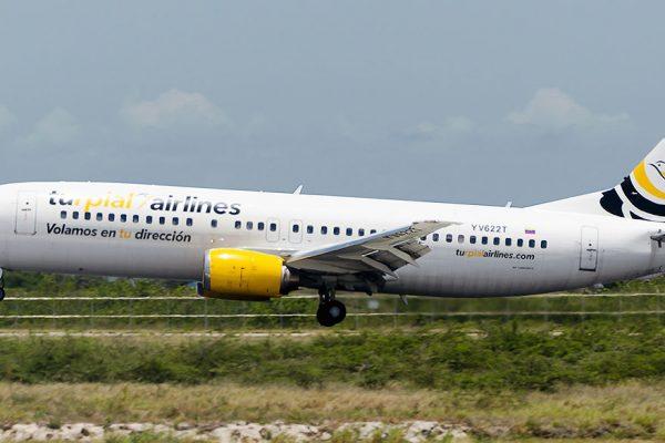 Turpial Airlines inicia vuelos semanales de Venezuela a Dominicana
