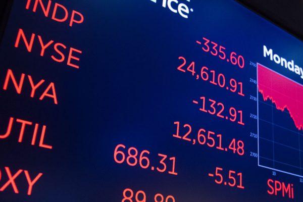 Las bolsas asiáticas caen tras malos resultados de Wall Street
