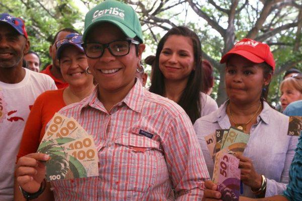 """Este es """"caribe"""" la nueva moneda que lanzó la Alcaldía de Libertador"""