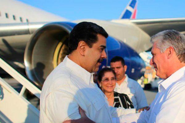 Maduro visita Cuba y se reúne con el nuevo mandatario de la isla