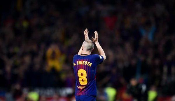 Iniesta abandonará el Barcelona a final de temporada