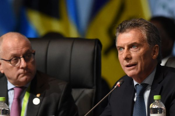 Macri anunció pedido de adelanto de fondos al FMI