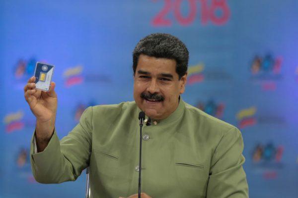 Maduro certificó 16 casas de cambio de criptoactivos y anunció el petro oro