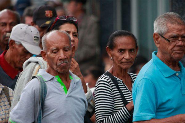 Escasez de efectivo motivó pago incompleto a los pensionados