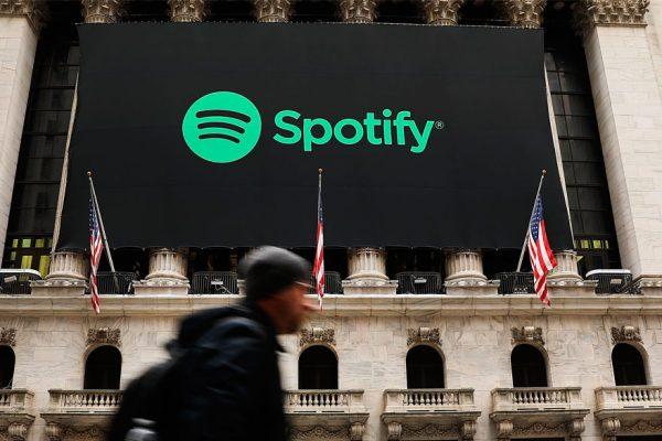 Spotify debuta en Wall Street con capitalización de $29.500 millones
