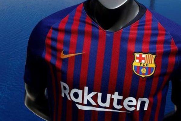 Barcelona estrenó camiseta para la próxima temporada