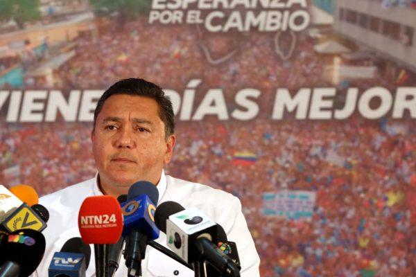 Bertucci reconoció resultados de las presidenciales
