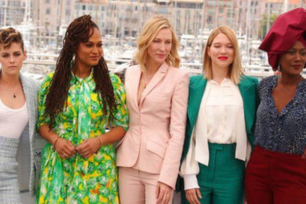 Estrellas femeninas exigieron «igualdad salarial» en la alfombra roja de Cannes