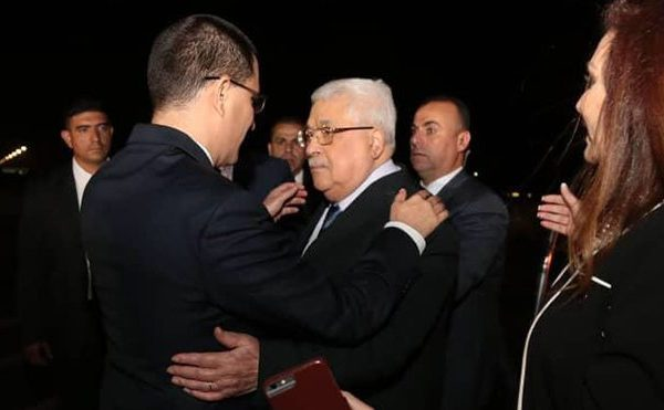 Presidente de Palestina arribó a Venezuela