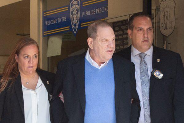 Weinstein paga fianza de $1 millón y llevará pulsera electrónica