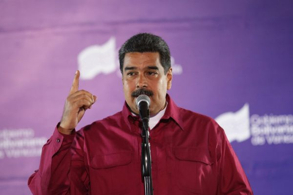 Maduro dice que Bachelet