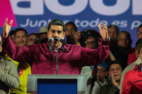 CNE: Maduro reelecto con 67,7% de los votos