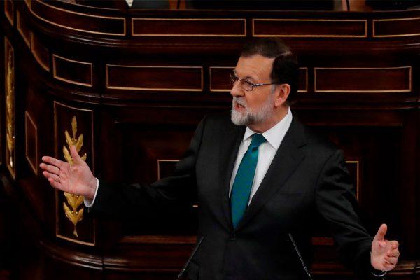 Rajoy a punto de perder el poder en España