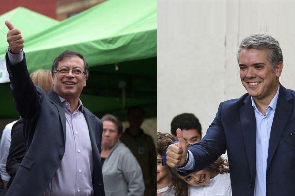 Duque y Petro disputarán segunda vuelta presidencial de Colombia