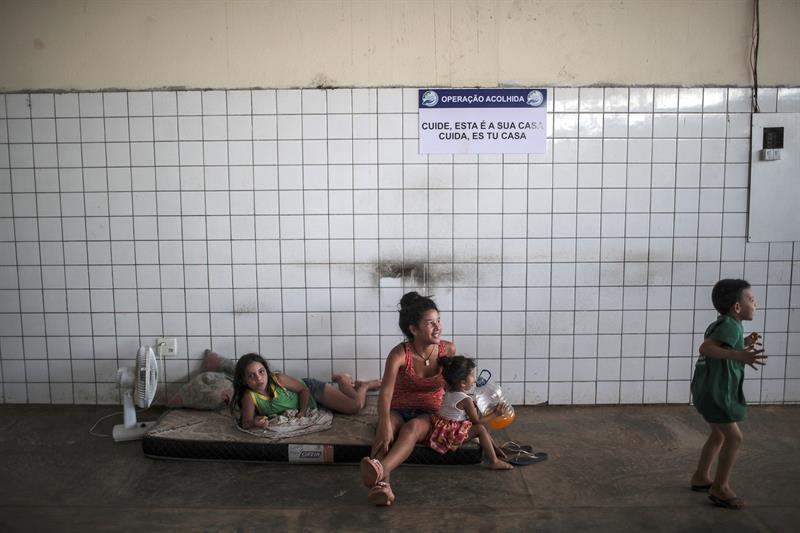 refugiados venezolanos brasil frotera