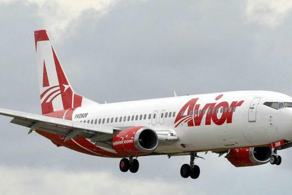 Avior Airlines anuncia suspensión de sus vuelos hacia y desde Margarita por la cuarentena radical