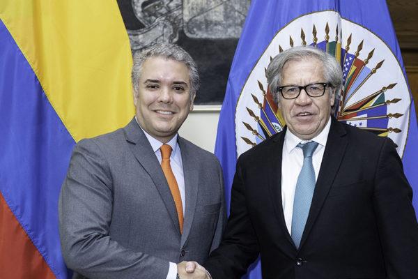 Duque pide apoyar denuncias de la OEA contra Venezuela