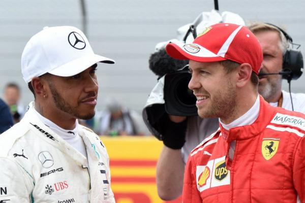 Vettel comienza fuerte en casa y Hamilton queda contra las cuerdas