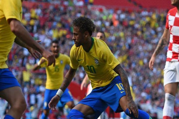 Brasil venció a Croacia con gol de Neymar