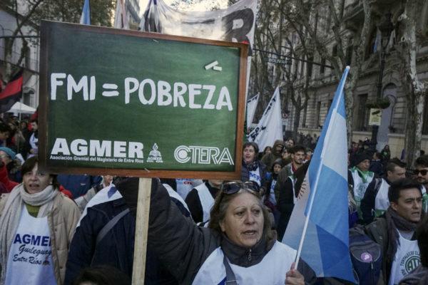Inflación argentina se dispara en septiembre y acumula 32,4% en 2018