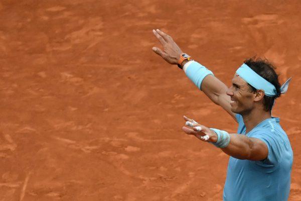 Las rodillas son el punto débil de Rafael Nadal