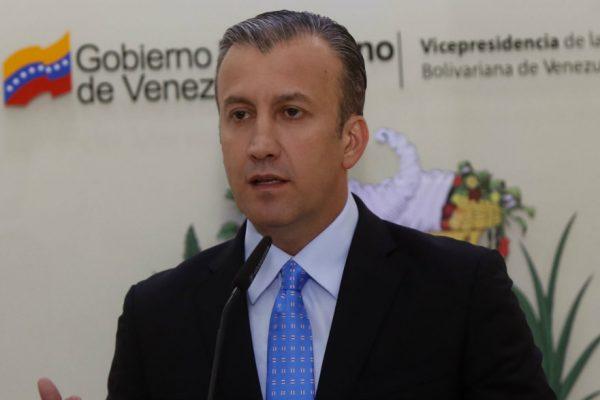 «Venezuela se encuentra estable económicamente»: El Aissami aseguró que el país va «hacia un crecimiento gradual»