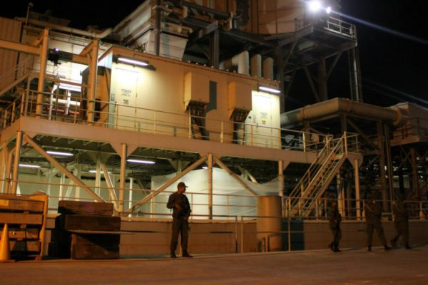 Ministro Reverol evalúa infaestructura para aumentar generación termoeléctrica