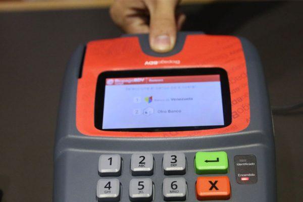 Banco de Venezuela prevé activar 25.000 puntos biométricos de pago