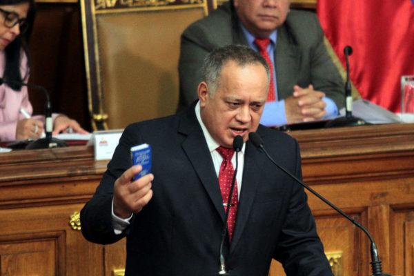 Diosdado Cabello es el nuevo presidente de la ANC