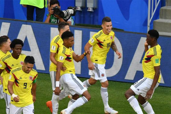 Colombia le gana a 1-0 a Senegal y pasa primera en su grupo
