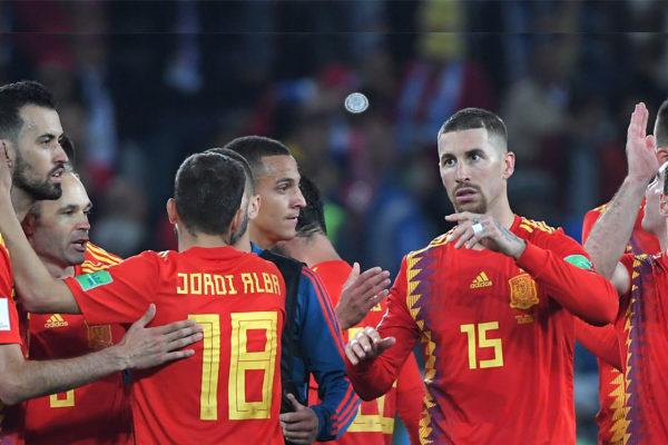 España empata con Marruecos y jugará contra Rusia en octavos