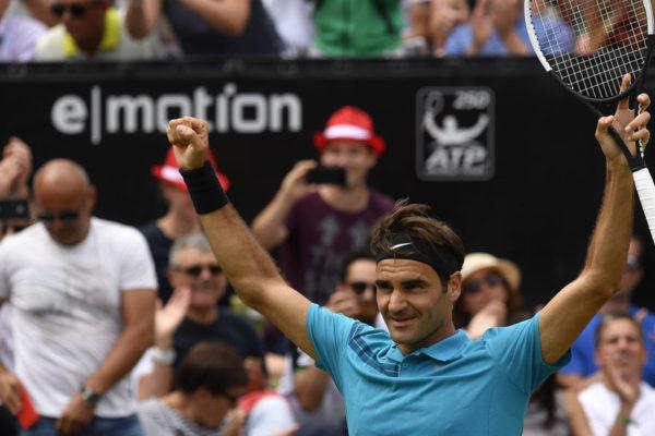 Federer consigue su 98º título ATP en Stuttgart