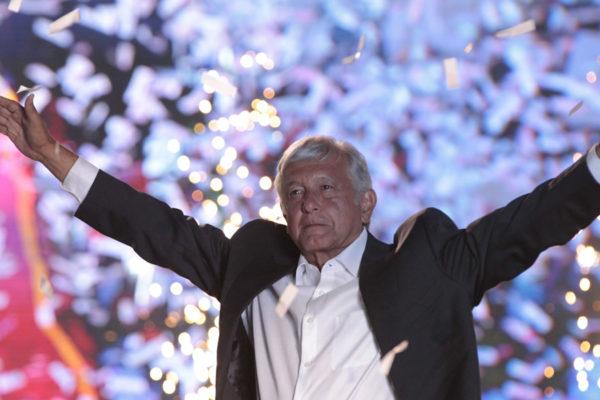 López Obrador cerró su campaña con tono triunfalista