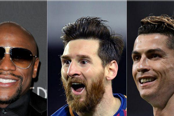 Los deportistas con mayores ingresos, según Forbes