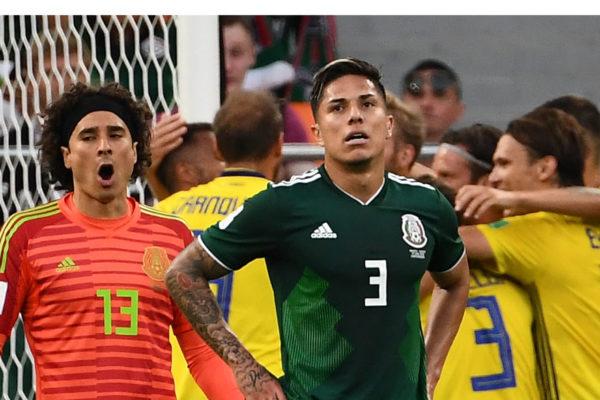 México se hunde ante Suecia pero pasa a octavos